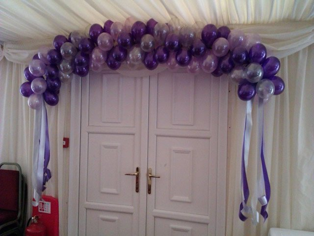 Balloon Arches And Cloud 9 S