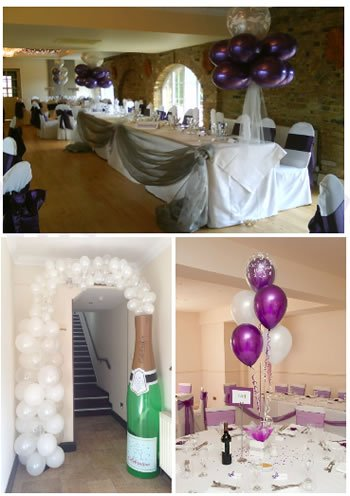 Elegant Venue Styling by Balloon Decor